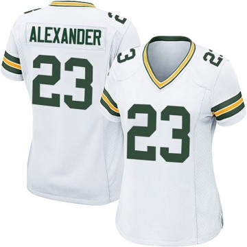 Women's Nike Green Bay Packers Jaire Alexander White Jersey - Game