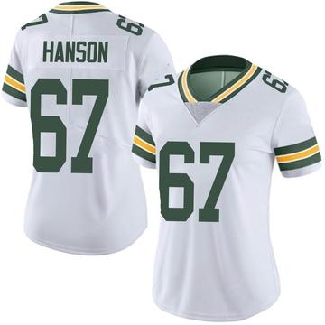 Women's Nike Green Bay Packers Jake Hanson White Vapor Untouchable Jersey - Limited
