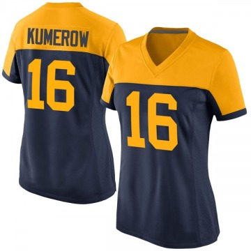 Women's Nike Green Bay Packers Jake Kumerow Navy Alternate Jersey - Game