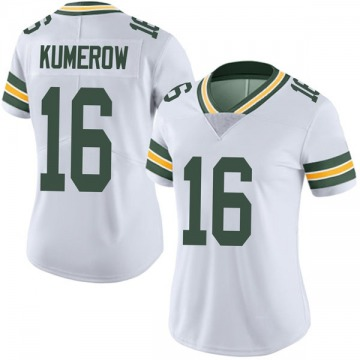 Women's Nike Green Bay Packers Jake Kumerow White Vapor Untouchable Jersey - Limited
