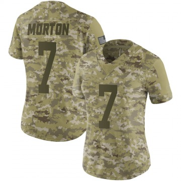 Women's Nike Green Bay Packers Jalen Morton Camo 2018 Salute to Service Jersey - Limited