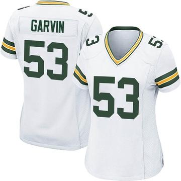 Women's Nike Green Bay Packers Jonathan Garvin White Jersey - Game