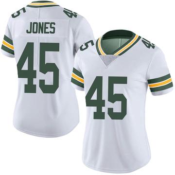 Women's Nike Green Bay Packers Jordan Jones White Vapor Untouchable Jersey - Limited