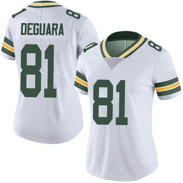 Women's Nike Green Bay Packers Josiah Deguara White Vapor Untouchable Jersey - Limited