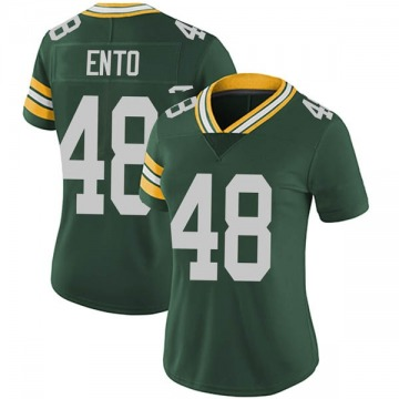 Women's Nike Green Bay Packers Kabion Ento Green Team Color Vapor Untouchable Jersey - Limited