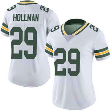 Women's Nike Green Bay Packers Ka'dar Hollman White Vapor Untouchable Jersey - Limited
