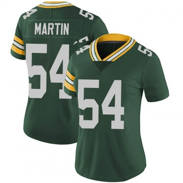 Women's Nike Green Bay Packers Kamal Martin Green Team Color Vapor Untouchable Jersey - Limited