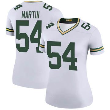 Women's Nike Green Bay Packers Kamal Martin White Color Rush Jersey - Legend