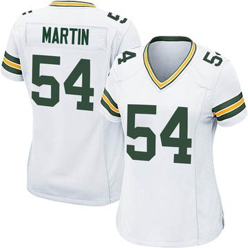 Women's Nike Green Bay Packers Kamal Martin White Jersey - Game