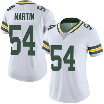 Women's Nike Green Bay Packers Kamal Martin White Vapor Untouchable Jersey - Limited