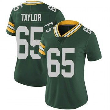 Women's Nike Green Bay Packers Lane Taylor Green Team Color Vapor Untouchable Jersey - Limited