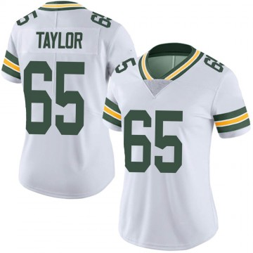 Women's Nike Green Bay Packers Lane Taylor White Vapor Untouchable Jersey - Limited