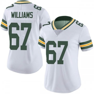 Women's Nike Green Bay Packers Larry Williams White Vapor Untouchable Jersey - Limited