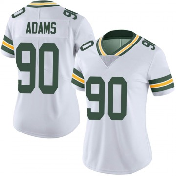 Women's Nike Green Bay Packers Montravius Adams White Vapor Untouchable Jersey - Limited