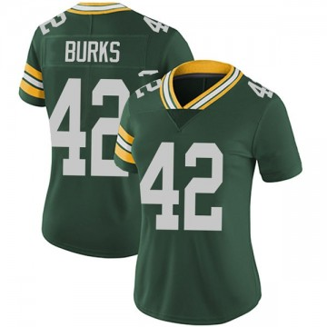 Women's Nike Green Bay Packers Oren Burks Green Team Color Vapor Untouchable Jersey - Limited