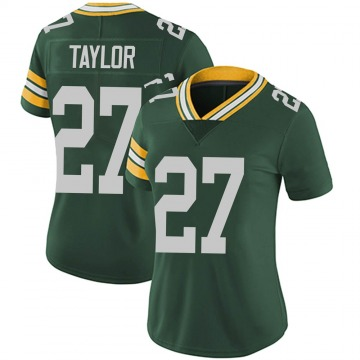 Women's Nike Green Bay Packers Patrick Taylor Jr. Green Team Color Vapor Untouchable Jersey - Limited
