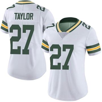 Women's Nike Green Bay Packers Patrick Taylor Jr. White Vapor Untouchable Jersey - Limited