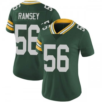 Women's Nike Green Bay Packers Randy Ramsey Green Team Color Vapor Untouchable Jersey - Limited
