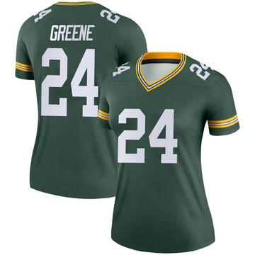 Women's Nike Green Bay Packers Raven Greene Green Jersey - Legend