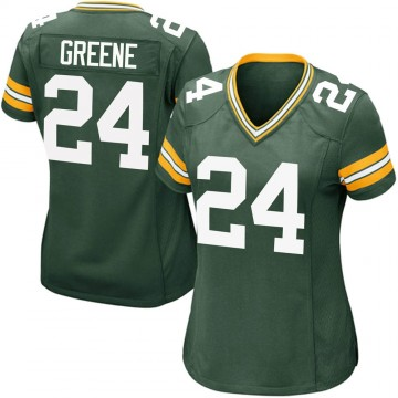 Women's Nike Green Bay Packers Raven Greene Green Team Color Jersey - Game