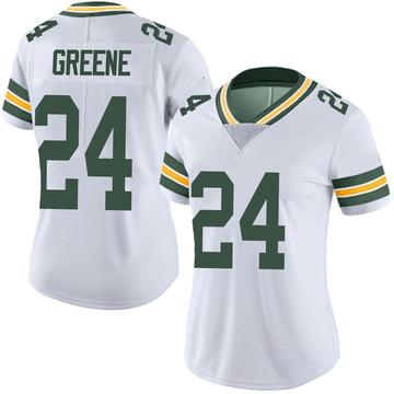 Women's Nike Green Bay Packers Raven Greene White Vapor Untouchable Jersey - Limited