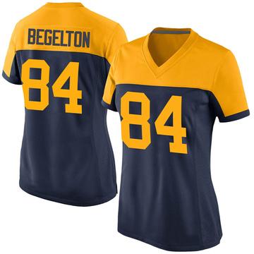 Women's Nike Green Bay Packers Reggie Begelton Navy Alternate Jersey - Game
