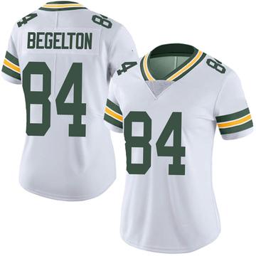 Women's Nike Green Bay Packers Reggie Begelton White Vapor Untouchable Jersey - Limited