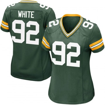 Women's Nike Green Bay Packers Reggie White Green Team Color Jersey - Game