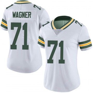 Women's Nike Green Bay Packers Rick Wagner White Vapor Untouchable Jersey - Limited