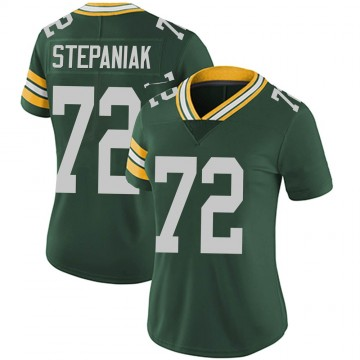 Women's Nike Green Bay Packers Simon Stepaniak Green Team Color Vapor Untouchable Jersey - Limited