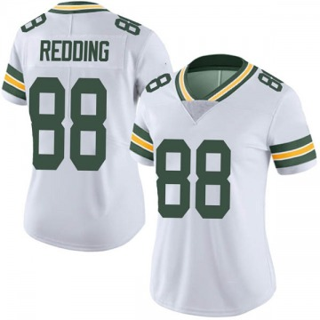 Women's Nike Green Bay Packers Teo Redding White Vapor Untouchable Jersey - Limited