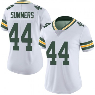 Women's Nike Green Bay Packers Ty Summers White Vapor Untouchable Jersey - Limited