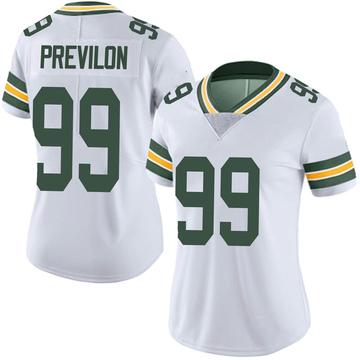 Women's Nike Green Bay Packers Willington Previlon White Vapor Untouchable Jersey - Limited