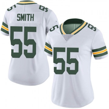 Women's Nike Green Bay Packers Za'Darius Smith White Vapor Untouchable Jersey - Limited