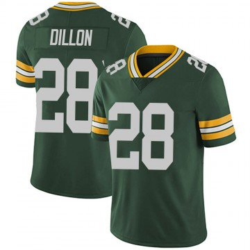 Youth Nike Green Bay Packers AJ Dillon Green Team Color Vapor Untouchable Jersey - Limited