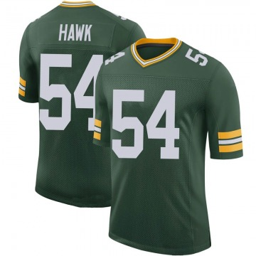Youth Nike Green Bay Packers A.J. Hawk Green 100th Vapor Jersey - Limited