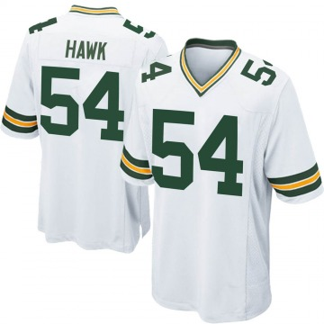 Youth Nike Green Bay Packers A.J. Hawk White Jersey - Game