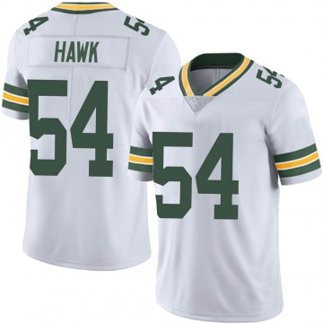 Youth Nike Green Bay Packers A.J. Hawk White Vapor Untouchable Jersey - Limited