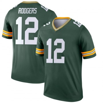 Youth Nike Green Bay Packers Aaron Rodgers Green Jersey - Legend