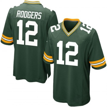Youth Nike Green Bay Packers Aaron Rodgers Green Team Color Jersey - Game