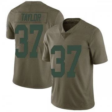 Youth Nike Green Bay Packers Aaron Taylor Green 2017 Salute to Service Jersey - Limited