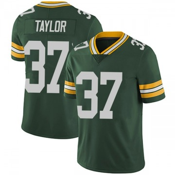 Youth Nike Green Bay Packers Aaron Taylor Green Team Color Vapor Untouchable Jersey - Limited