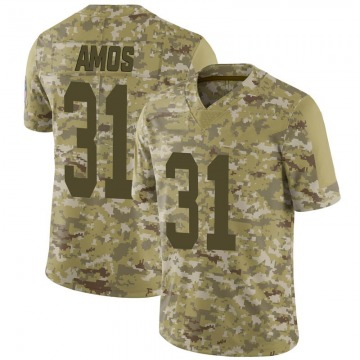 Youth Nike Green Bay Packers Adrian Amos Camo 2018 Salute to Service Jersey - Limited