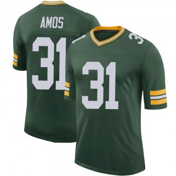 Youth Nike Green Bay Packers Adrian Amos Green 100th Vapor Jersey - Limited