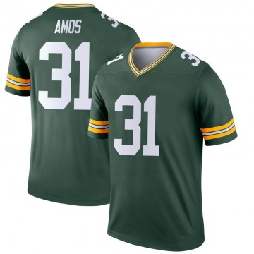 Youth Nike Green Bay Packers Adrian Amos Green Jersey - Legend