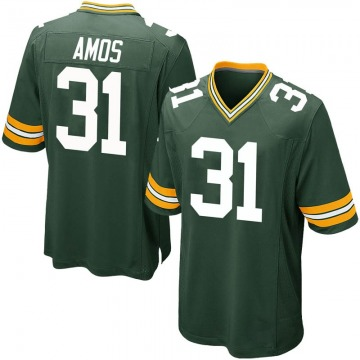 Youth Nike Green Bay Packers Adrian Amos Green Team Color Jersey - Game