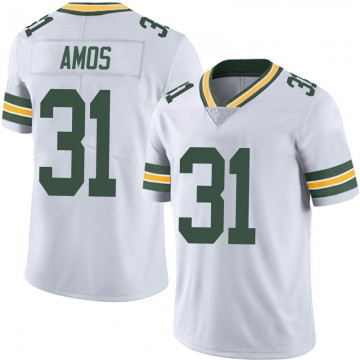 Youth Nike Green Bay Packers Adrian Amos White Vapor Untouchable Jersey - Limited