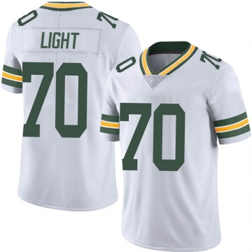 Youth Nike Green Bay Packers Alex Light White Vapor Untouchable Jersey - Limited