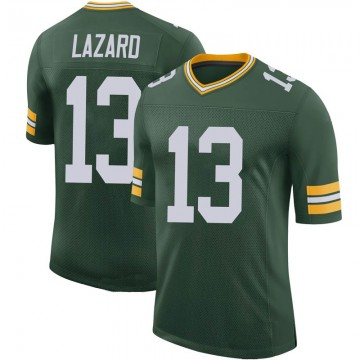 Youth Nike Green Bay Packers Allen Lazard Green 100th Vapor Jersey - Limited