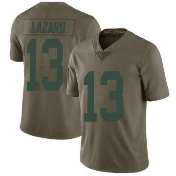Youth Nike Green Bay Packers Allen Lazard Green 2017 Salute to Service Jersey - Limited
